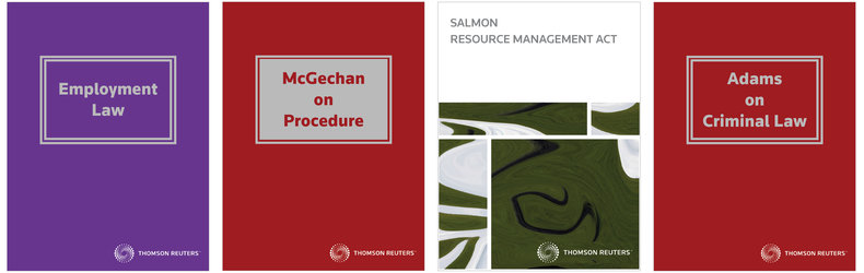Thomson Reuters NZ -  Salmon Resource Management Act, Adams on Criminal Law