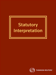 Statutory Interpretation - Westlaw NZ