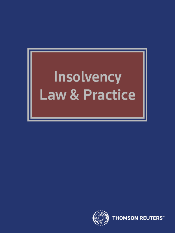 Insolvency Law and Practice