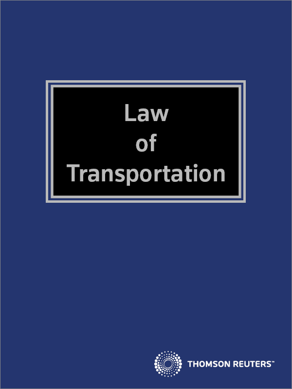Brookers Law of Transportation