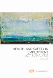 Health and Safety in Employment: Act and Analysis