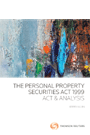 Personal Property Securities Act 1999 – Act & Analysis (eBook)