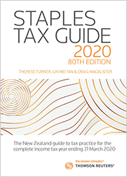 Staples Tax Guide 2020 - 80th Edition (Standing Order)