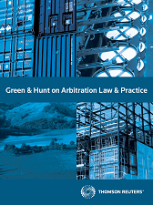 Green & Hunt on Arbitration Law and Practice - Westlaw NZ