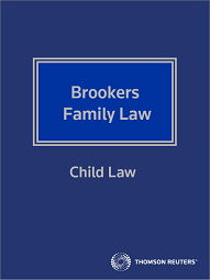 Family Law - Child Law - Westlaw NZ