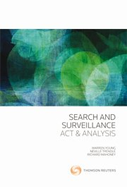 Search and Surveillance: Act & Analysis (eBook)