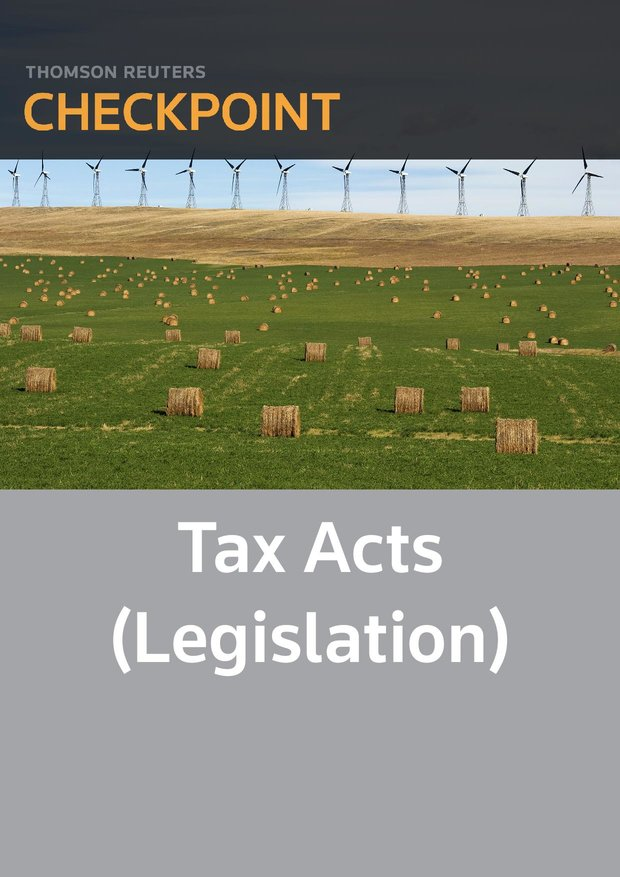 Tax Acts (legislation) - Checkpoint