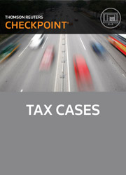 Tax Cases - Checkpoint