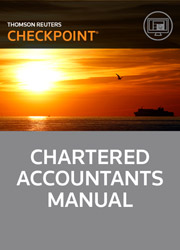 Chartered Accountants Manual - Checkpoint