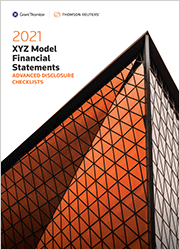 XYZ Model Financial Statements - Advanced Disclosure Checklists - Checkpoint