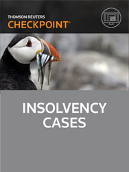 Insolvency Cases - Checkpoint