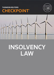 Insolvency Law - Checkpoint