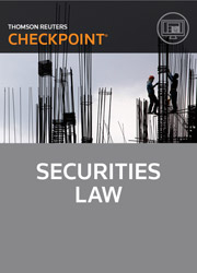 Securities Law - Checkpoint