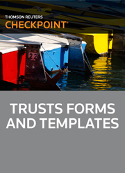 Trusts Forms and Templates - Checkpoint