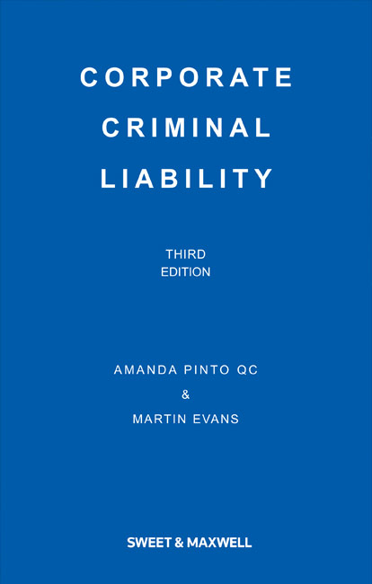 Corporate Criminal Liability 3rd Edition
