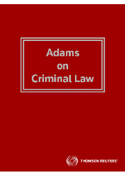 Adams on Criminal Law eReference