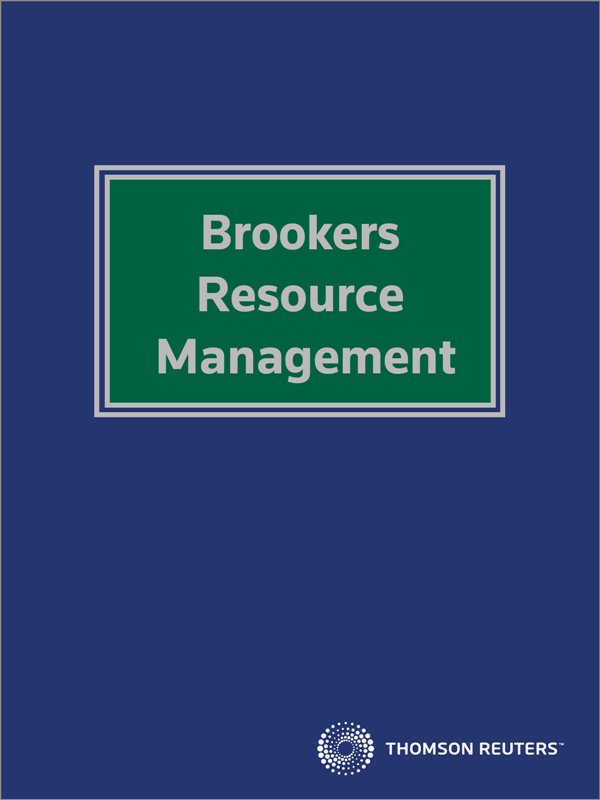 Brookers Resource Management eReference