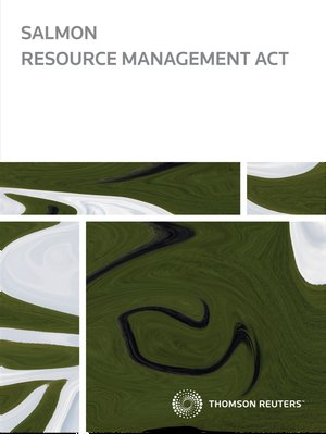 Salmon Resource Management eReference