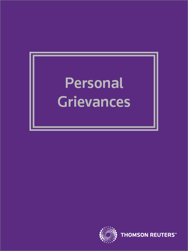 Personal Grievances eReference