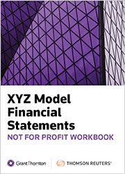 XYZ Model Financial Statements - Not For Profit Workbook - Checkpoint