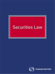 Securities Law eReference