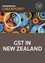 GST in New Zealand - Checkpoint