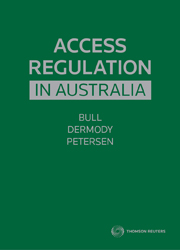 Access Regulation in Australia 1st Edition