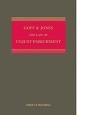 Goff & Jones: The Law of Unjust Enrichment - 9th Edition