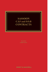 Sassoon: CIF and FOB Contracts - 6th Edition