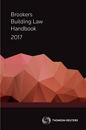 Brookers Building Law Handbook 2017
