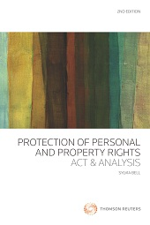 Protection of Personal and Property Rights Act & Analysis (2nd Edition) - Book