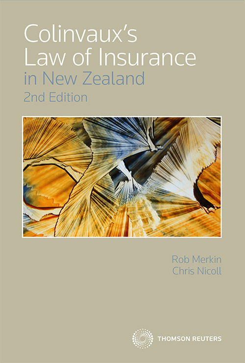 Colinvauxs Law of Insurance in NZ 2nd Edition (Book + eBook)