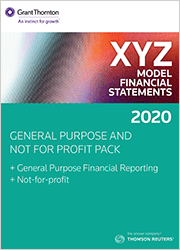 XYZ MFS General Purpose and Not For Profit Pack (GPFR + NFP)