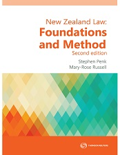 New Zealand Law: Foundations and Method (2nd edition) & Principles of Legal Method (3rd edition) - (Book Bundle)