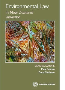 Environmental Law in New Zealand 2nd edition - (Book)