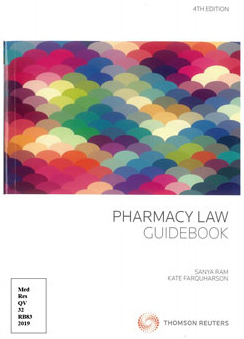 Pharmacy Law Guidebook (4th edition)