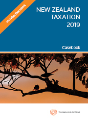 New Zealand Taxation Casebook 2019 - (Book)