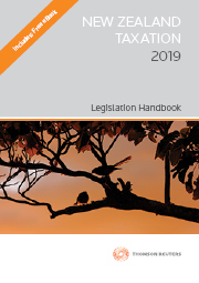 New Zealand Tax Legislation 2019 - (Book)