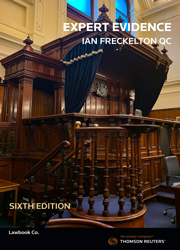 Expert Evidence: Law, Practice, Procedure and Advocacy 6e - Book