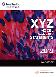 XYZ Model Financial Statements - Workbook 2019 (One-off purchase)