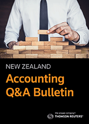 Accounting Q & A Bulletin - Checkpoint