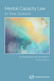 Mental Capacity Law in New Zealand (book)