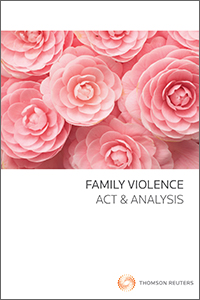 Family Violence Act and Analysis (book + ebook pack)