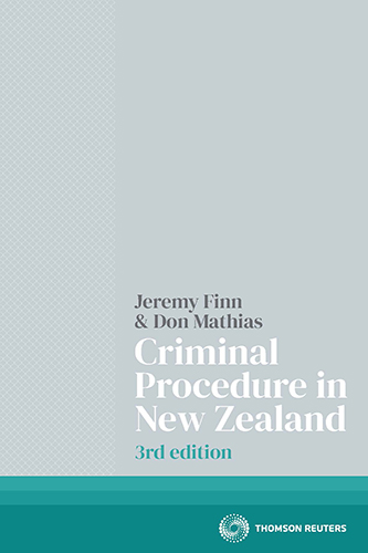 Criminal Procedure in New Zealand (3rd edition) Book
