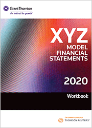 XYZ Model Financial Statements - Workbook 2020 (One-off purchase)