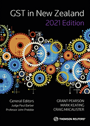 GST in New Zealand 2021 Edition (One-off Purchase Book)