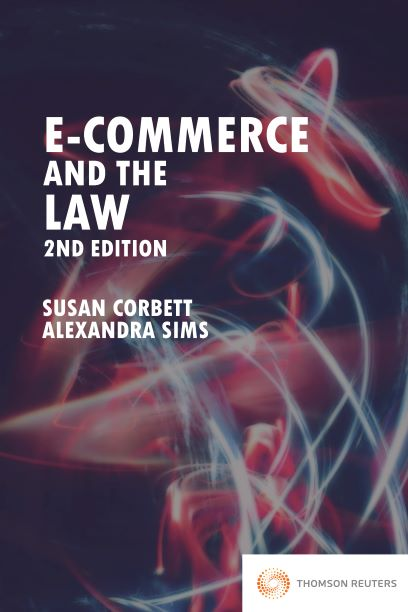 E-Commerce and the Law (2nd edition) bk