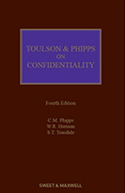 Toulson & Phipps on Confidentiality 4e Book + eBook