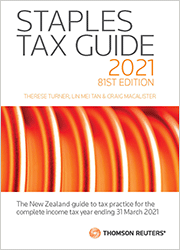Staples Tax Guide 2021 (81st Edition) book - One-off purchase