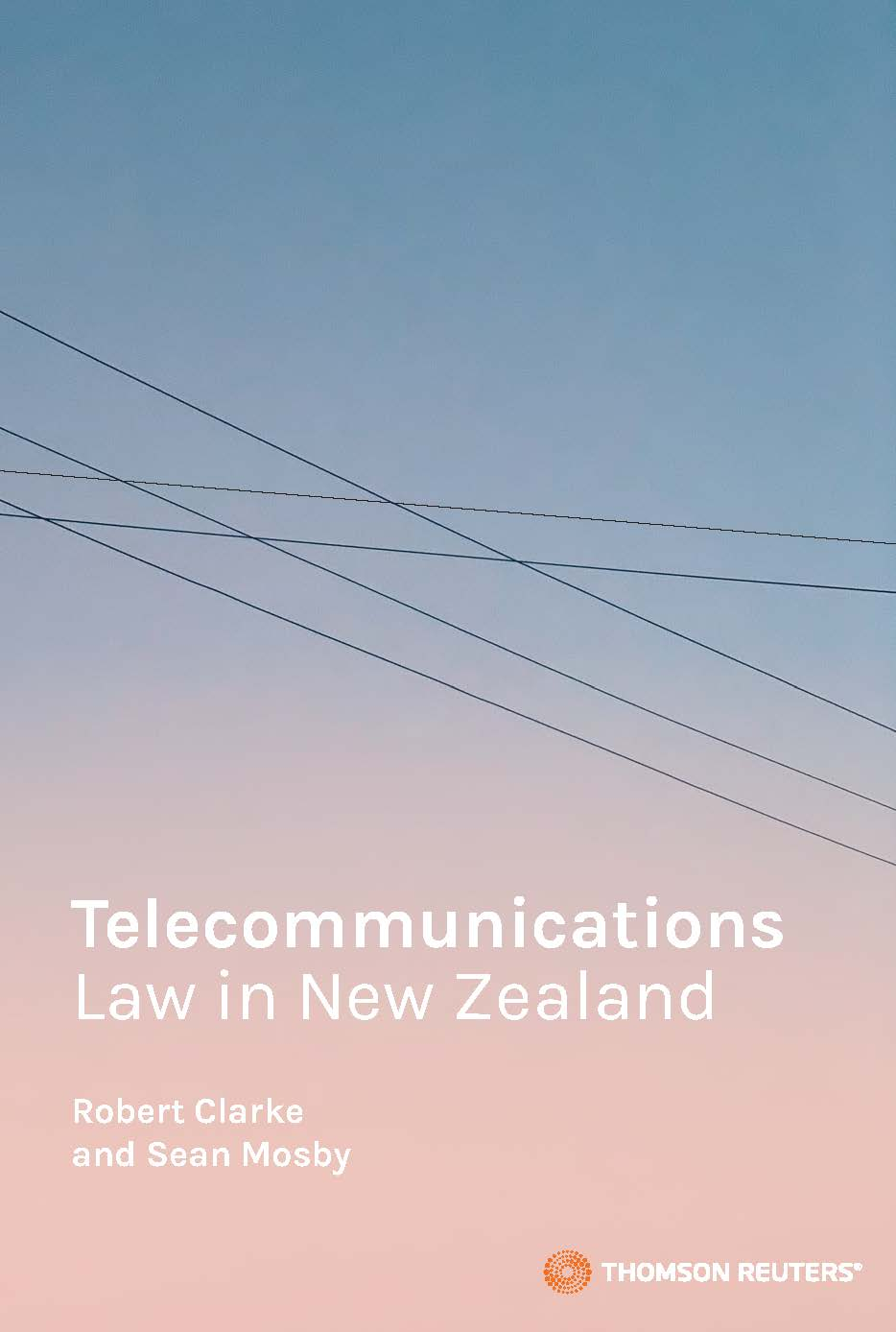 Telecommunications Law in New Zealand (bk)